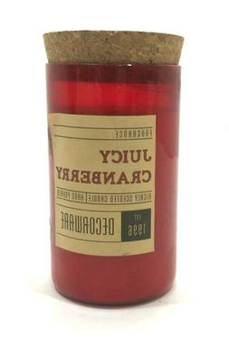 Decorware ~ Dw Home Candle Juicy Cranberry Candle 13.67oz  C