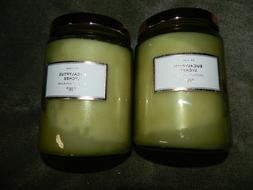 DW HOME Eucalyptus Lychee SOY CANDLE 19.285 oz New  x 2