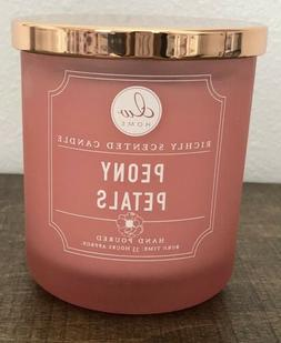 Dw Peony Petals Candle 9.21oz Candle Scented Flowers NEW Pin