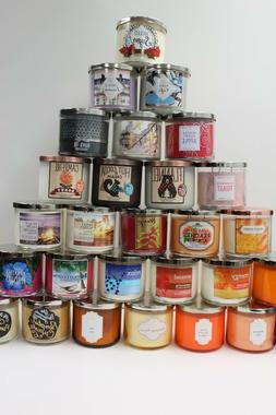 Easter Sale! 13.75 NEW BATH AND BODY WORKS  3WICK CANDLE 14.