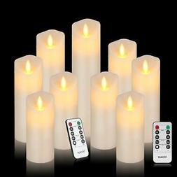 Vinkor Flameless Candles Flickering Battery Operated Candles