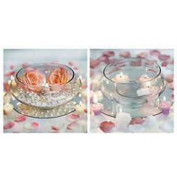 Floating Candle Bowl for Wedding Party Birthday Centerpieces
