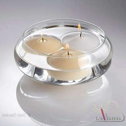 """Eastland Floating Candle Dish Garden 8"""" Glass Centerpieces S"""