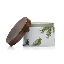 Thymes - Frasier Fir Pine Needle Decorative Tin Candle, 40 H