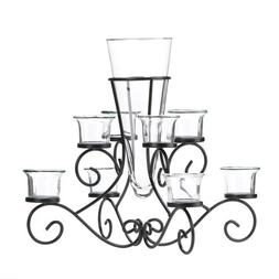 Koehler Holiday Season Home Decor Scrollwork Candle Stand Ta