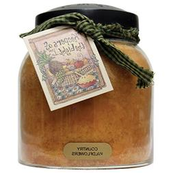 A Cheerful Giver Jar Papa Country Wildflowers Jar Candles