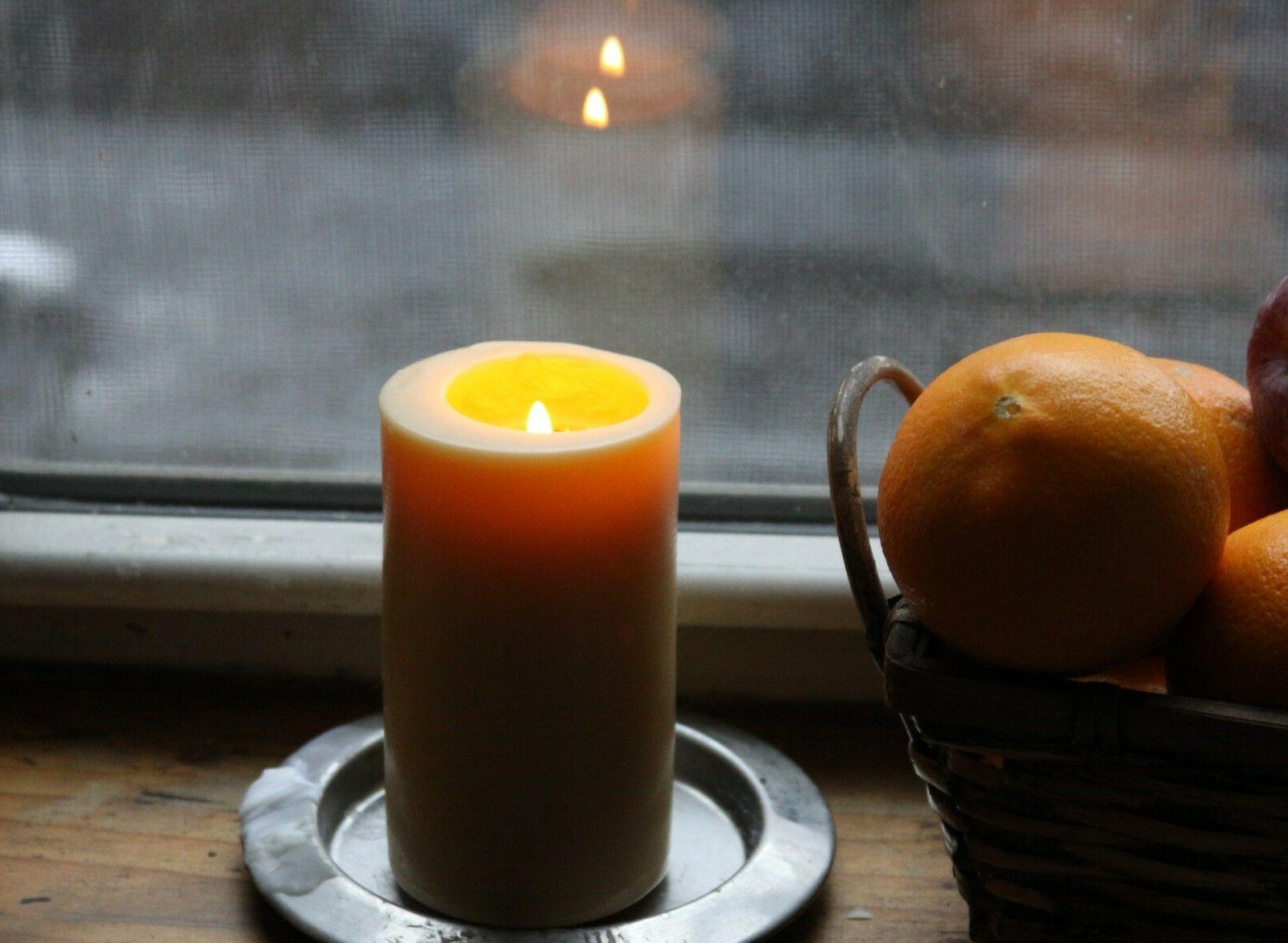 Handmade 100% Pure Beeswax Candles