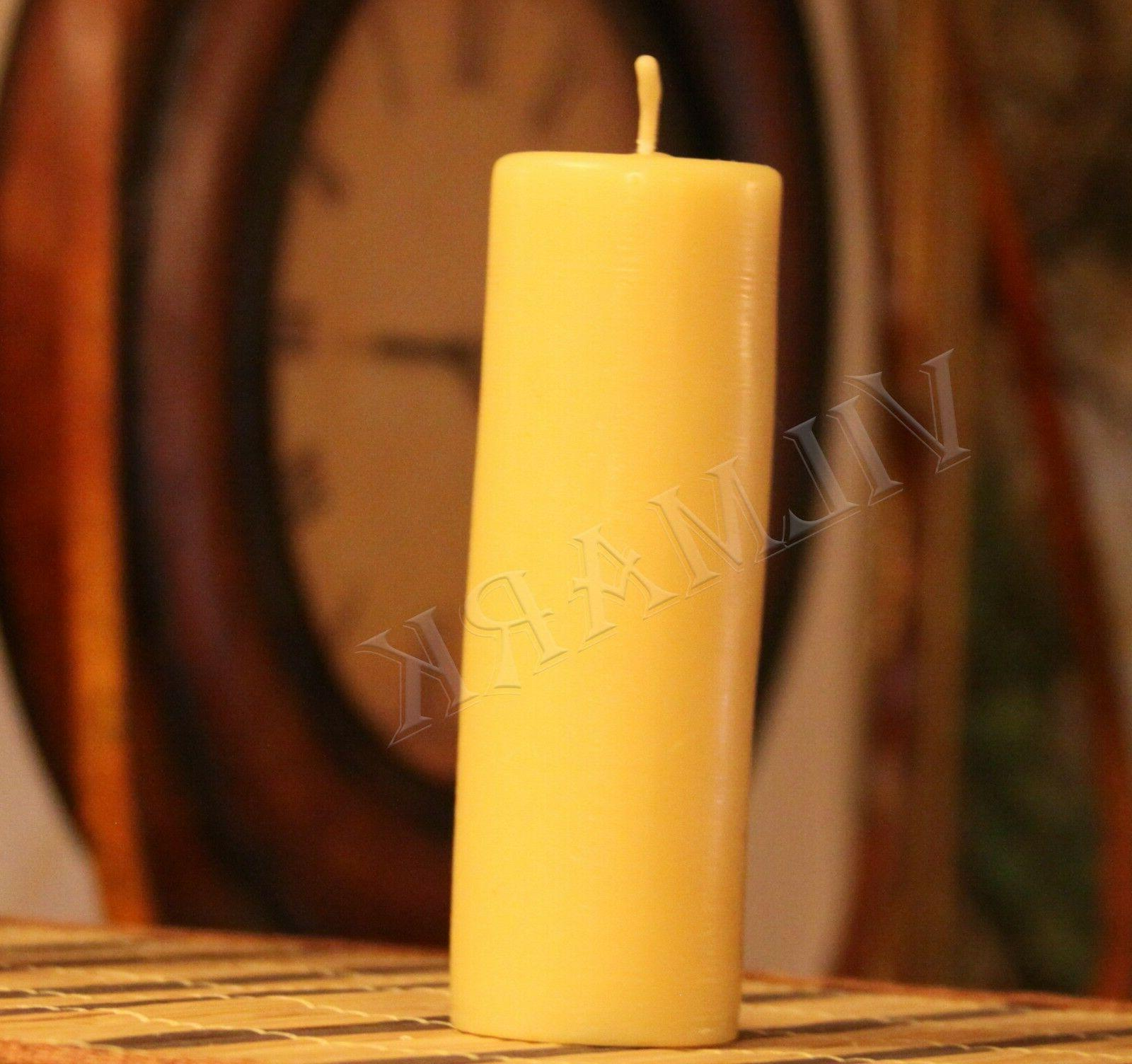 Handmade Pure Beeswax Candles Wick