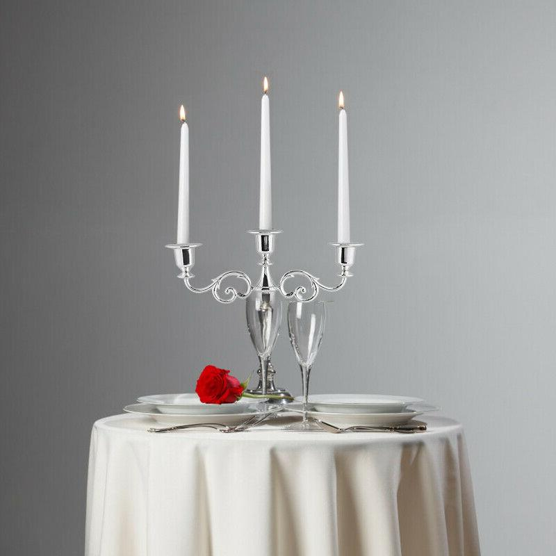 Antique Retro Candlesticks Large Tall Romantic Dinner Candle