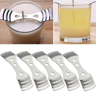 5Pcs Device Holder Candle Making Supplies Fine Metal Candle