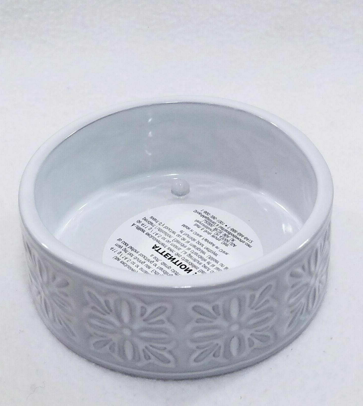 bath and body works white floral ceramic