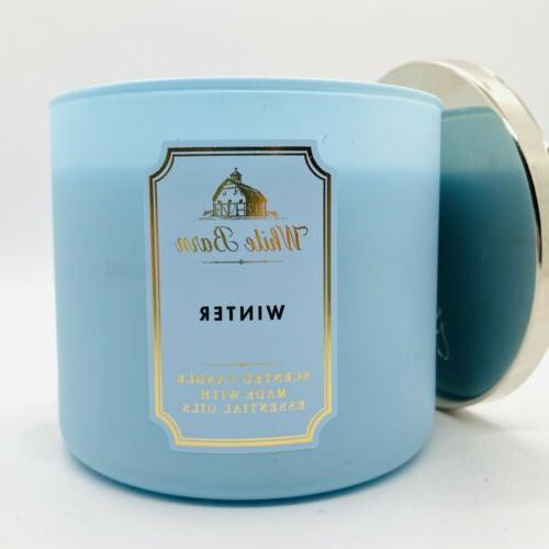 bath and body works winter candle large