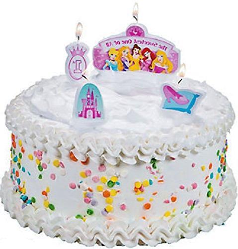 Amscan Birthday Molded Candle Set,