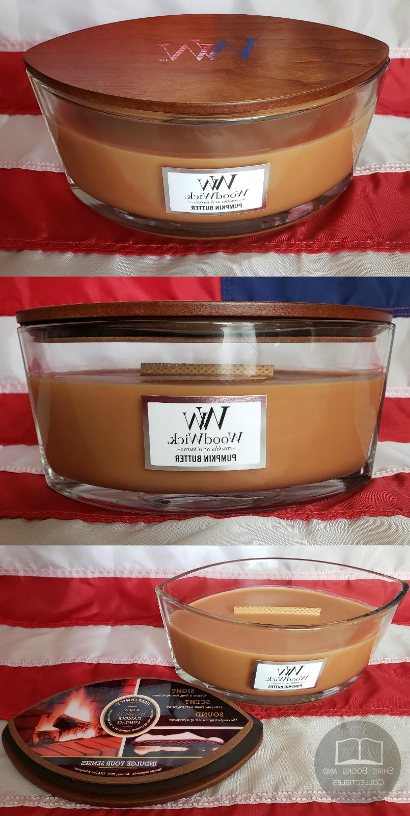 WoodWick Scented Candle Large 16 Oz Crakle Flame Sound