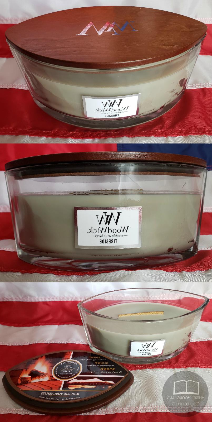 WoodWick Ellipse Scented Candle Large 16 Oz Flame