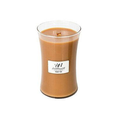 hot toddy large hourglass candle 22 oz