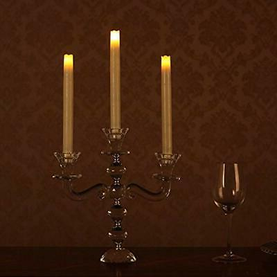 LED Taper Candle, Dripless Real Wax