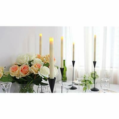 LED Taper Candle, Dripless