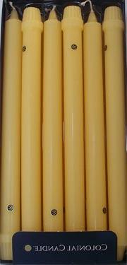 Colonial Candle Limoncello Yellow 10 inch Classic - Box of 1