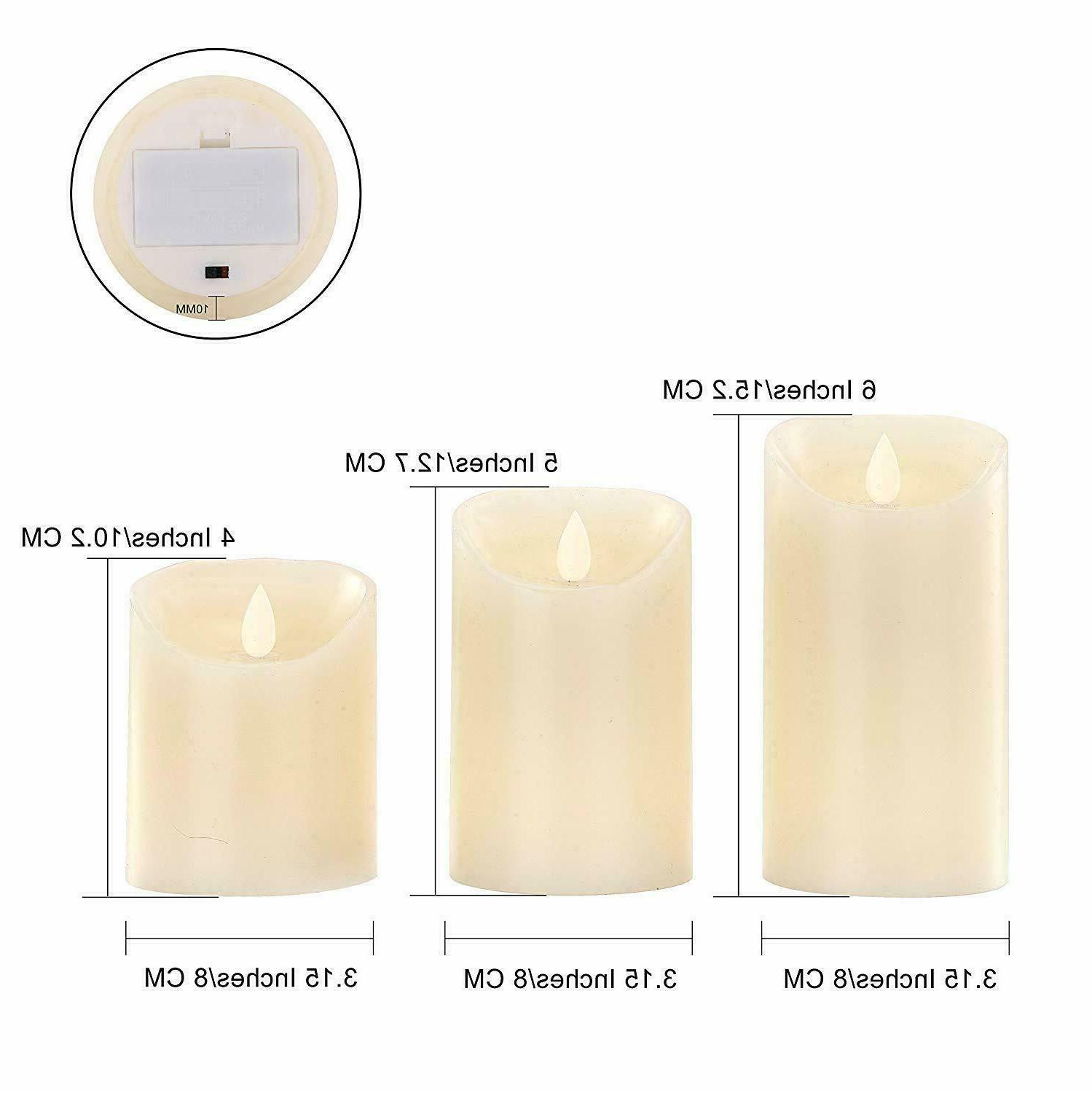 Luminara Candles Moving Wick Remote