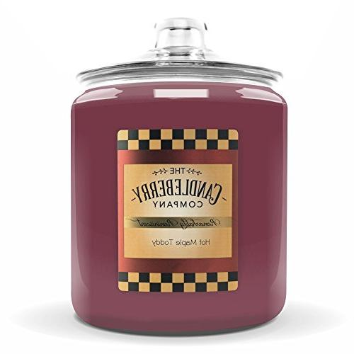 maple toddy candle