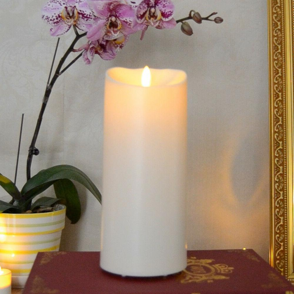 Luminara Outdoor Flameless Candle Plastic Finish Unscented M