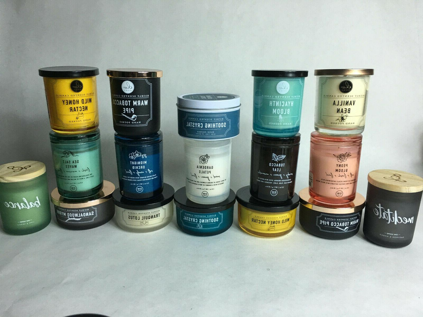DW Home Richly Candle Match! Added Candles shipping!