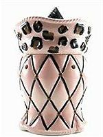 Tyler Candle Radiant Fragrance Warmer - Chained Leopard Pink