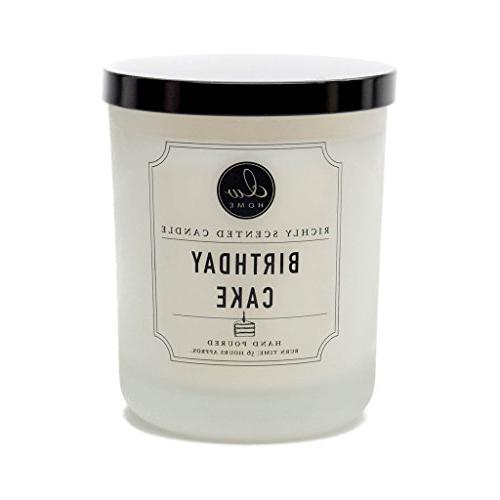 richly scented candle double wick