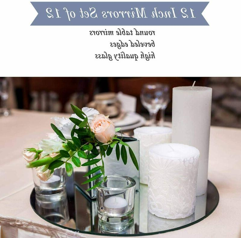 Round Plate Set Box 12 Trays 12 in