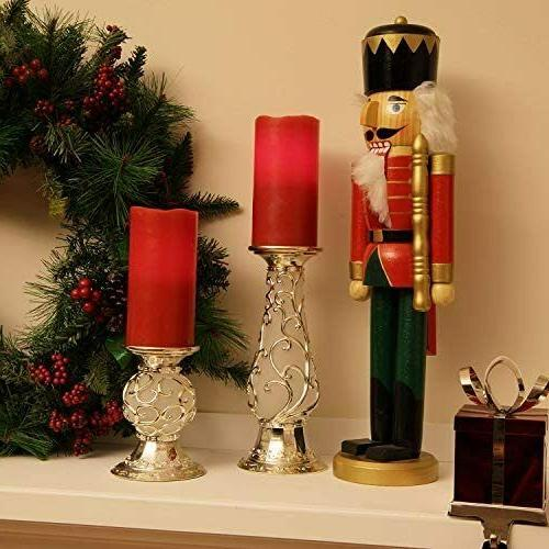 Pillar Candles Wick LED Timer Use