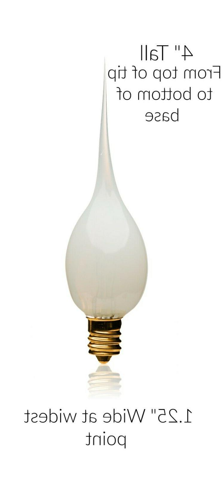 Silicone Bulbs for 6 12 Candle Light Window Bulb
