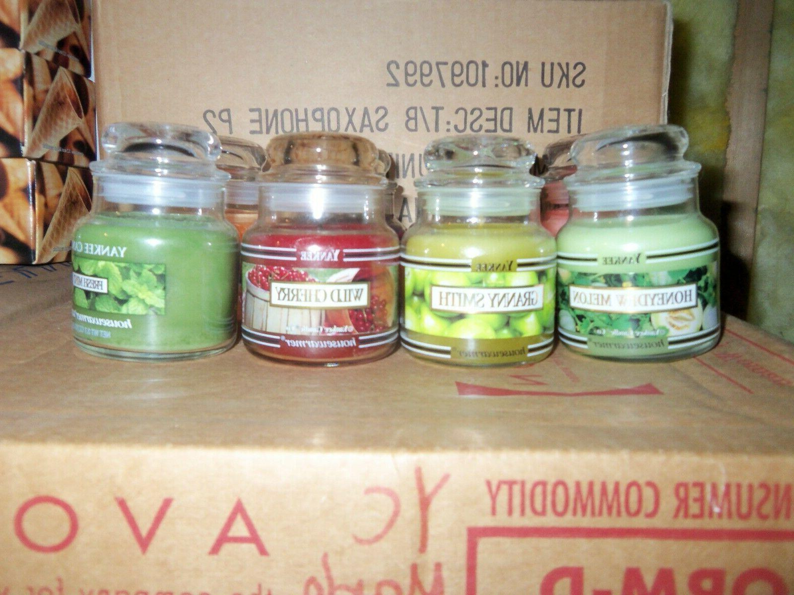 Small Yankee oz. Jars You choose your Free