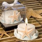 Starfish Design Favor Saver Candle Favors, 1