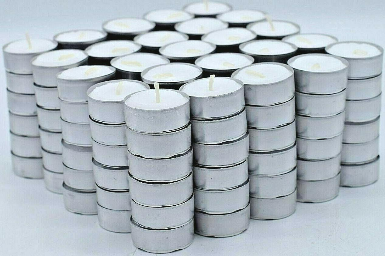 tea light candles 200 pack 4 hours