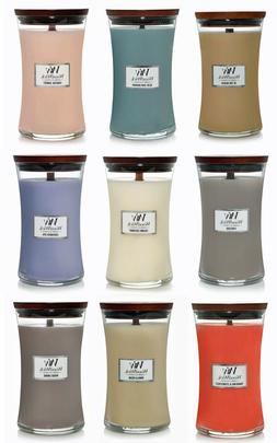 WoodWick Large Hourglass  21.5 oz Scented Jar Candle ~ Selec