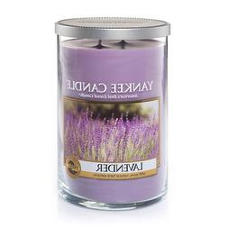 Yankee Candle Lavender Large 2-Wick Tumbler Candle, Fresh Sc