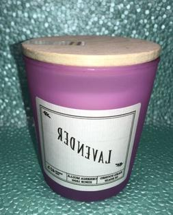 Cereria Molla Lavender Scented Luxury Candle In Pink Glass J