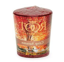 Root Legacy 20-Hour Beeswax Votive Candles, 18-Pack, Crisp A