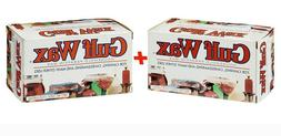 LOT OF 2 BOXES OF GULF WAX 16 OZ. BOXES PARAFFIN CANNING , C
