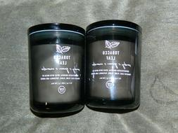 Lot of 2 DW Home Candle Tobacco Leaf 15.01  NEW x 2