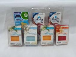 LOT OF 7 PATRIOT CANDLE & GLADE WAX MELTS 44 TOTAL MELTS APP