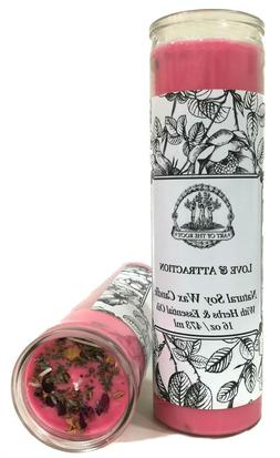 Love & Attraction 7 Day Soy Spell Candle Commitment Marriage