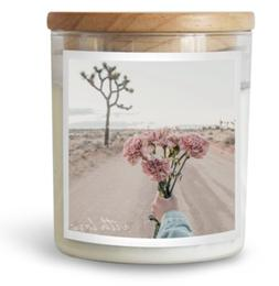 With Love Candle Home Fragrance, Decor, Great Gift