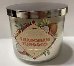 Bath and Body Works Mahogany Coconut Glass Candle 14.5 Ounce