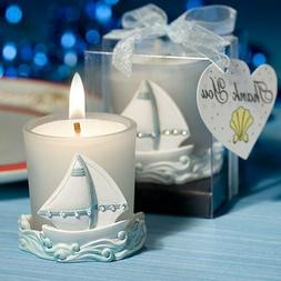 Fashioncraft - Nautical Themed Candles - Pack of 2
