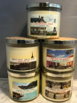 New Bath Body Works 3 Wick Candle *You Choose Scent*