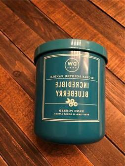 NEW DW Home Blue Candle Incredible Blueberry Scent 33 Hour M