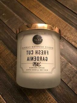 NEW DW Home Candle Fresh Cut Gardenia Flowers 33 Hour Floral