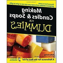 NEW - Making Candles and Soaps For Dummies by Ewing, Kelly